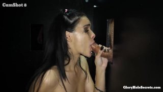 Streaming porn video still #7 from Gloryhole Secrets: Filthy Firsts