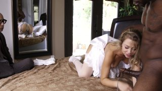 Streaming porn video still #5 from Interracial Wedding Night Cuckold