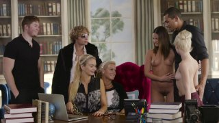 Streaming porn video still #3 from Swingers Club, The
