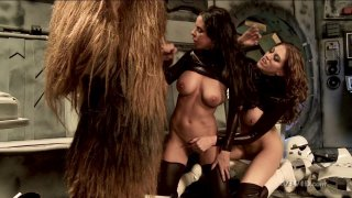 Streaming porn video still #5 from Star Wars XXX: A Porn Parody
