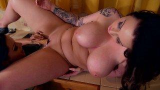 Streaming porn video still #5 from Lesbian Big Breasts