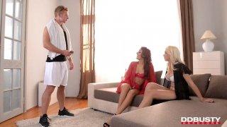 3 way pleausre porn movies
