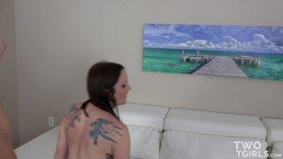 Streaming porn video still #4 from Two TGirls Vol. 2