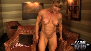 Streaming porn video still #5 from Muscle MILFs