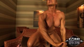 Streaming porn video still #9 from Muscle MILFs