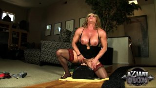 Streaming porn video still #6 from Muscle MILFs