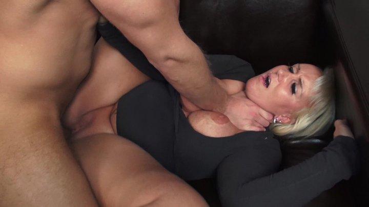 German busty blonde milf getting nailed