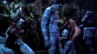 Streaming porn video still #2 from This Ain't Avatar XXX  3-D