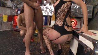 Streaming porn video still #9 from Slutty Girls Love Rocco 12