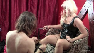 Streaming porn video still #2 from FemDoms And Sissy Boys