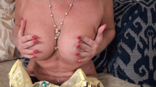 Streaming porn video still #4 from Mature British Lesbians #4