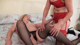 Streaming porn video still #2 from Mature British Lesbians #4