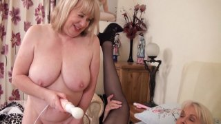 Streaming porn video still #7 from Mature British Lesbians #4
