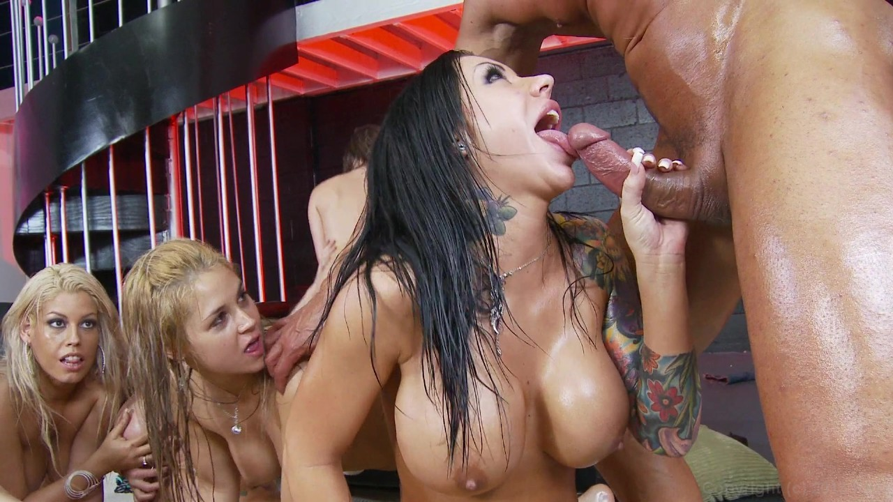 Nude oily girl orgy seeing that
