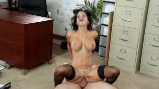 Streaming porn video still #8 from Big Tit Fantasies