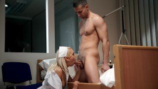 Streaming porn video still #4 from Rose Valerie, Night Shift Nurse