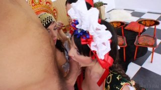 Streaming porn video still #2 from Anal Acrobats #7