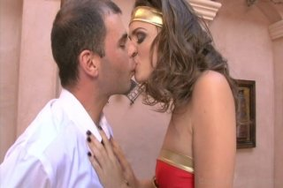 Streaming porn video still #1 from Wonder Woman XXX: A Hardcore Parody