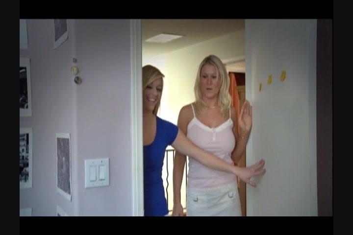 Girls holding my boner