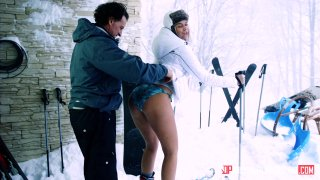 Streaming porn video still #3 from Ski Bums