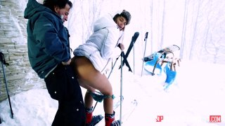 Streaming porn video still #4 from Ski Bums