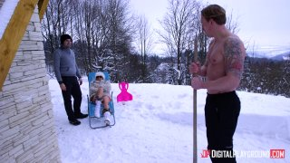Streaming porn video still #1 from Ski Bums