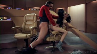 Streaming porn video still #5 from Star Trek The Next Generation: A XXX Parody