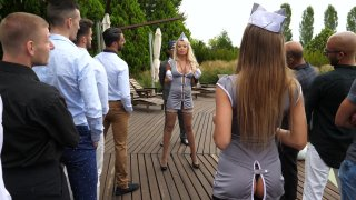 Streaming porn video still #1 from Rocco Siffredi Hard Academy Part 5 . . . Goes Live