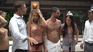 Streaming porn video still #3 from Rocco Siffredi Hard Academy Part 5 . . . Goes Live