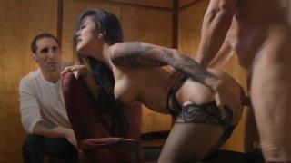 Streaming porn video still #3 from Bound To Cum