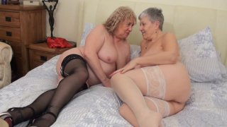 Streaming porn video still #7 from Mature British Lesbians #6