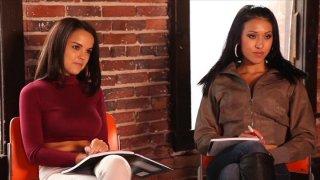 Streaming porn video still #2 from Secret Lesbian Diaries 3: Writing School
