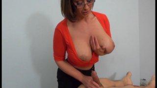 Streaming porn video still #8 from Even More... Femdom Cumshots!!!