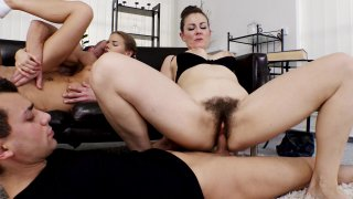 Streaming porn video still #9 from Mother & Daughter Swapping Cock