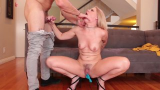 Streaming porn video still #4 from Step Sister Creampies