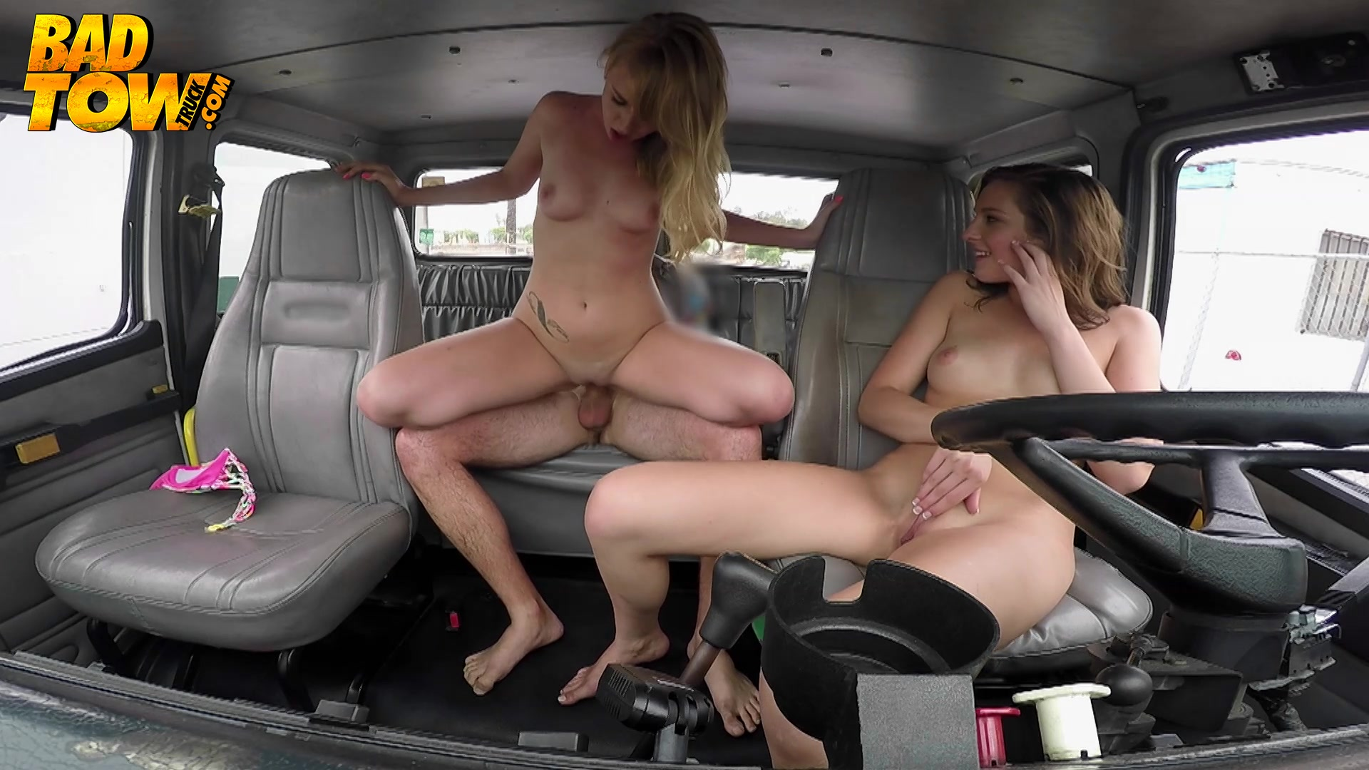 Bad tow truck porn