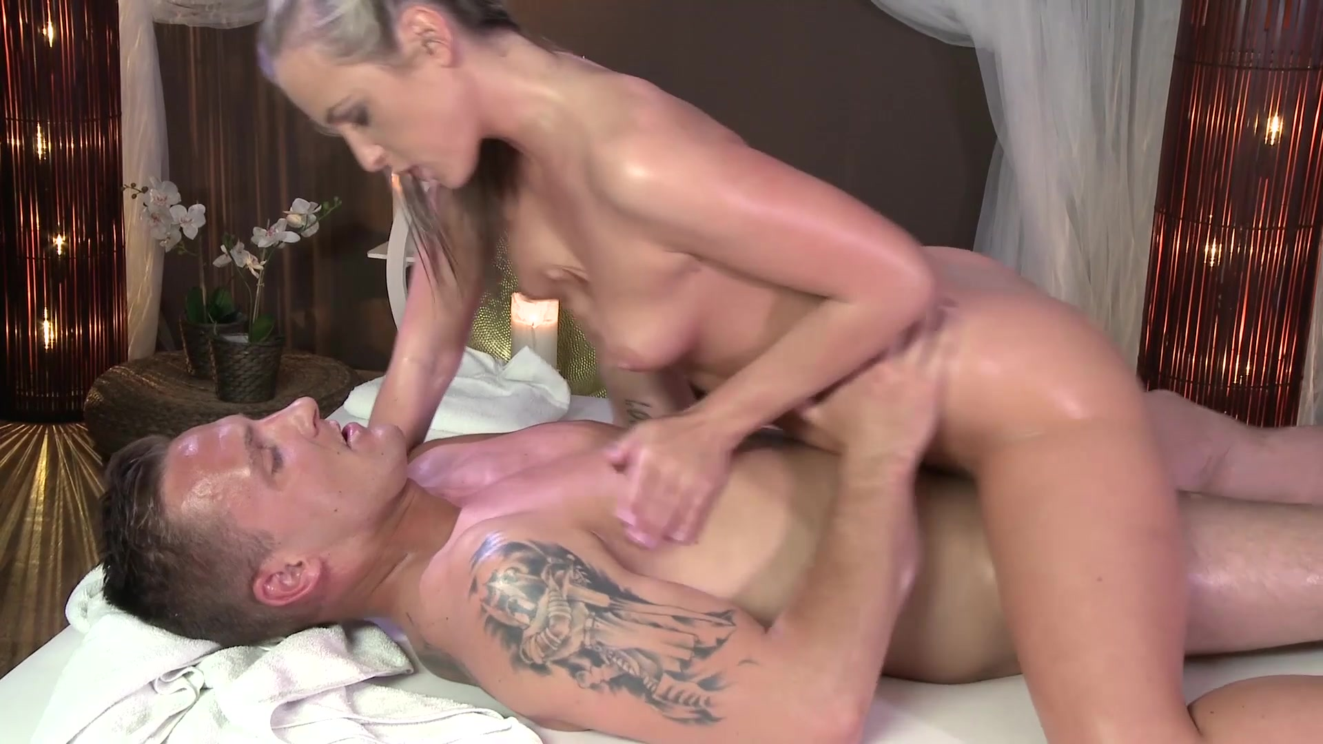 Massage rooms sexy georgie lyall with big natural tits 8