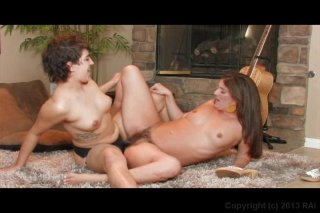 Streaming porn video still #8 from ATK Hairy Lesbians