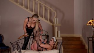 Streaming porn video still #4 from Perversions Of Lesbian Lust