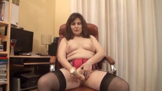 Streaming porn video still #7 from Mature British Lesbians #2