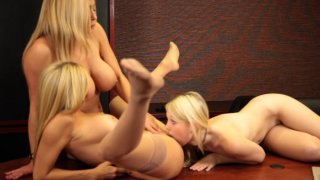 Streaming porn video still #7 from Lesbian Family Affair Vol. 4