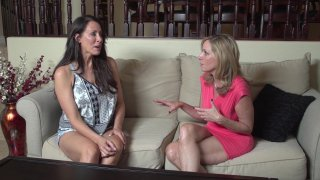 Streaming porn video still #2 from Mother-Daughter Lesbian Lessons 6