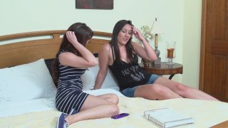 Streaming porn video still #1 from Mother-Daughter Lesbian Lessons 6