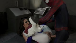 Streaming porn video still #9 from Spider-Man XXX 2: An Axel Braun Parody