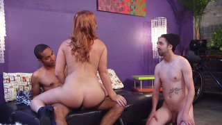Streaming porn video still #3 from Kinky Cuckold Gangbang 3