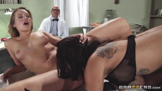 Streaming porn video still #4 from Brazzers Presents: The Parodies 5 - Straight Outta Brazzers