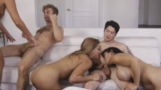 Streaming porn video still #7 from Cougar Orgy