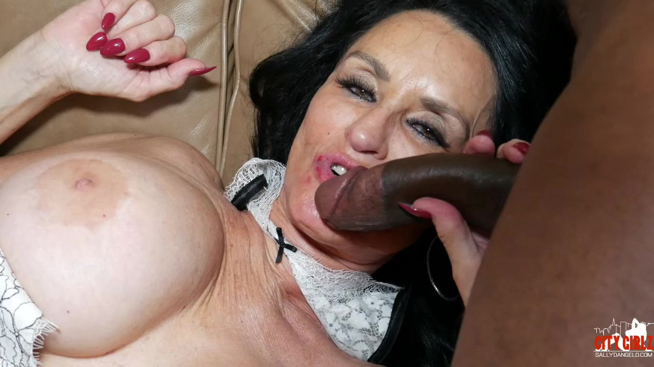 girl tied upsdie down sucking dick