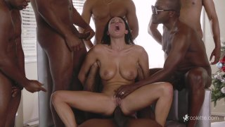 Streaming porn video still #5 from Interracial Fantasies