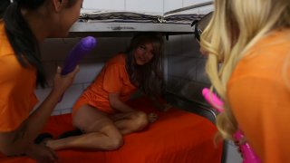 Sammie Six Can't Escape Her Daily Prison Girl Squirt Gangbang
